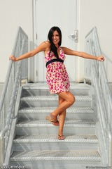 Cierra Spice gets naked and playful by the stairway to heaven 00