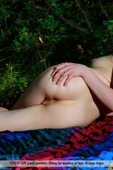 Inga S Teasing In Outdoors 09