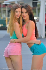Lana And Stella - Boobs In Public 00