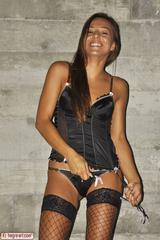 Dominika C Black Corset 05