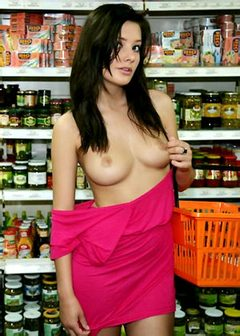 Anna in Shop Watch 4 Beauty free nude babes photo gallery