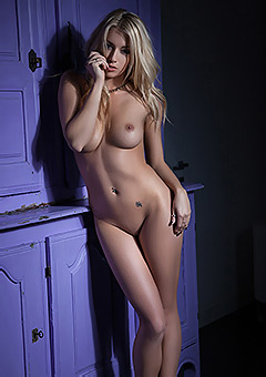 Busty Bexie Gets Naked