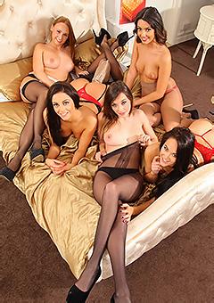 Abigail, Felicity, Rachel, Jo And Jayne