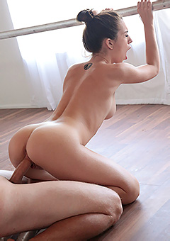 Sweet Ballerina Gets Fucked
