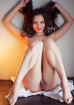 Young Brunette Loves Solo
